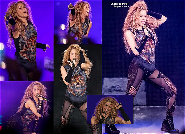 🎤 Shakira a donné un Concert à « L'Altice Arena » pour El Dorado Tour. 28 Juin 2o18 - Lisbonne, Portugal.