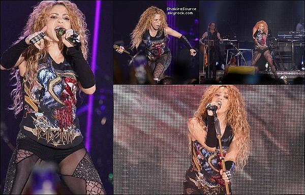 🎤 Shakira a donné un Concert au « Bilbao Exhibition Centre » pour El Dorado Tour. 3o Juin 2o18 - Bilbao, Espagne.