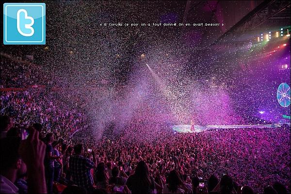 🎤 Shakira a donné un Concert au « Coliseum » pour El Dorado Tour. o1 Juillet 2o18 - La Corogne, Espagne.
