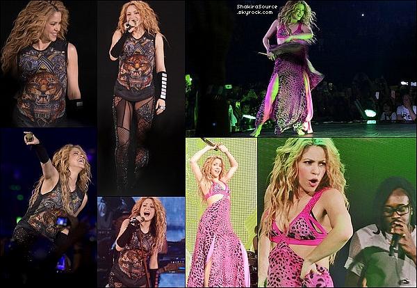 🎤 Shakira a donné un Concert au « Wizink Centre » pour El Dorado Tour. o3 Juillet 2o18 - Madrid, Espagne.