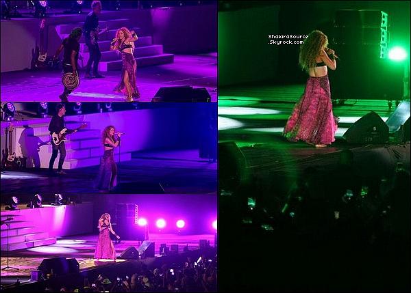 🎤 Shakira a chanté pour « La Cérémonie d'Ouverture de Los Juegos Centroamericanos y del Caribe 2018  ». 19 Juillet 2o18 - Barranquilla, Colombie.