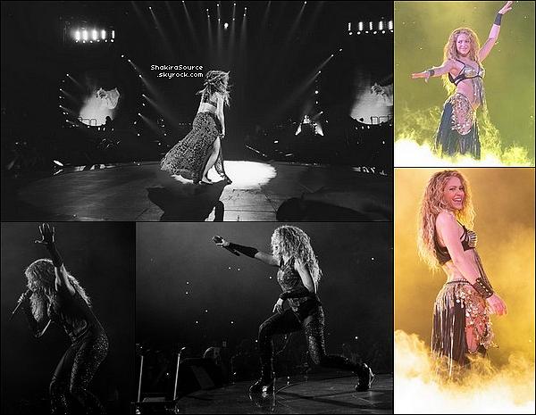 🎤 Shakira a donné un Concert à la « Scotiabank Arena » pour El Dorado Tour. o7 Août 2o18 - Toronto, Canada.