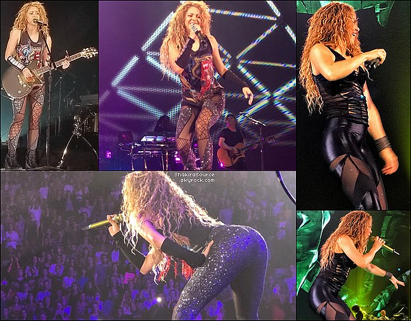 🎤 Shakira a donné un Concert au « Centre Bell » pour El Dorado Tour. o8 Août 2o18 - Montréal, Canada.