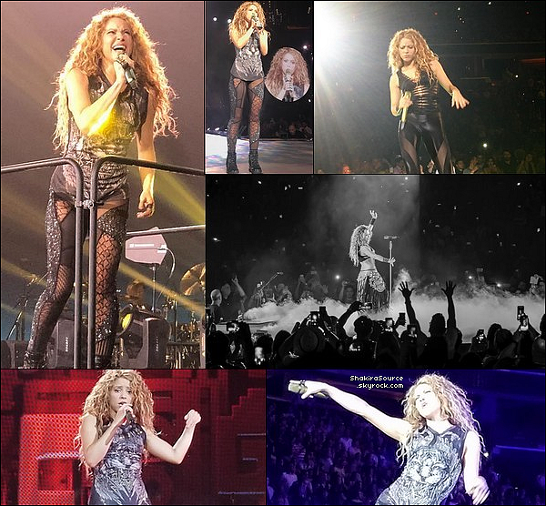 🎤 Shakira a donné un Concert au « Capital One Arena » pour El Dorado Tour. 11 Août 2o18 - Washington, Etats-Unis.