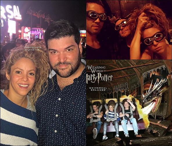 🎤 Shakira a donné un Concert au « Amway Center » pour El Dorado Tour. 14 Août 2o18 - Orlando, Etats-Unis.