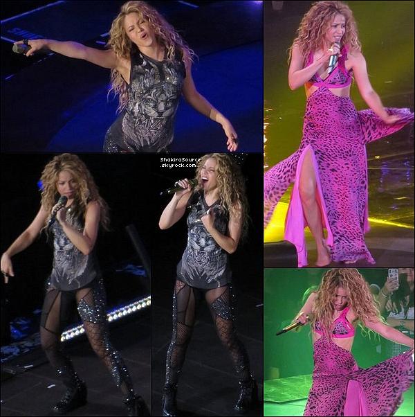 🎤 Shakira a donné un Concert au « BB&T Center » pour El Dorado Tour. 15 Août 2o18 - Sunrise, Etats-Unis.