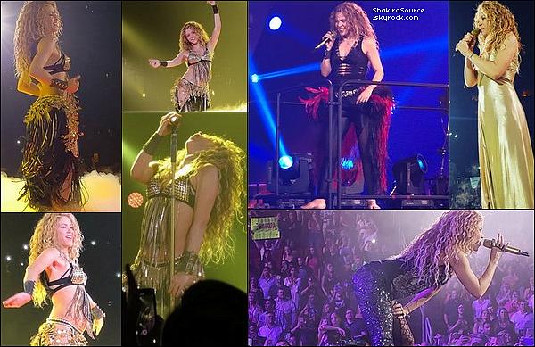 🎤 Shakira a donné un Concert au « Houston Toyota Center » pour El Dorado Tour. 22 Août 2o18 - Houston, Etats-Unis.