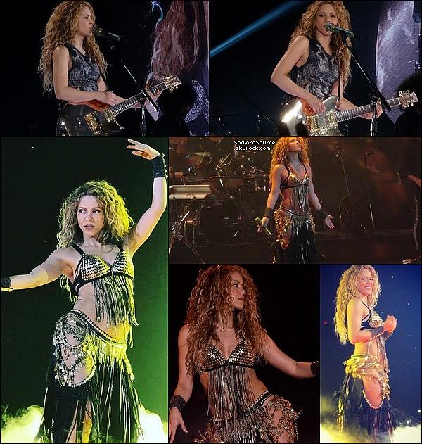 🎤 Shakira a donné un Concert au « AT&T Center » pour El Dorado Tour. 24 Août 2o18 - San Antonio, Etats-Unis.