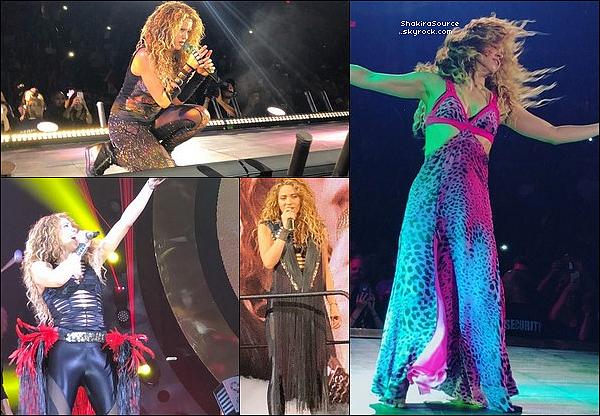 🎤 Shakira a donné un Concert au « Talking Stick Resort Arena » pour El Dorado Tour. 26 Août 2o18 - Phoenix, Etats-Unis.