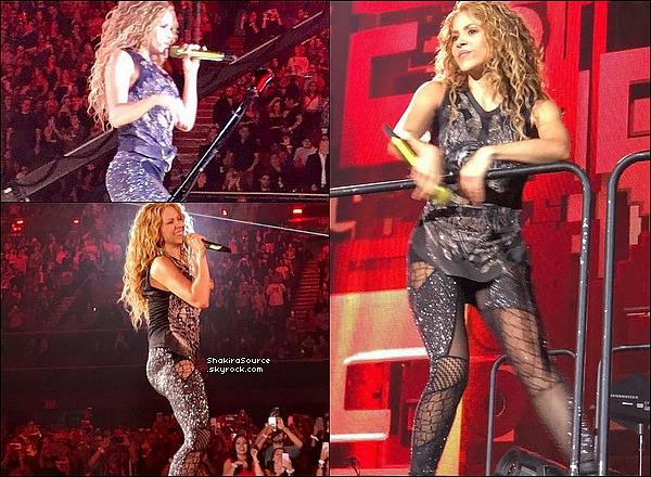 🎤 Shakira a donné un Concert à « The Forum » pour El Dorado Tour. 28 Août 2o18 - Los Angeles, Etats-Unis.