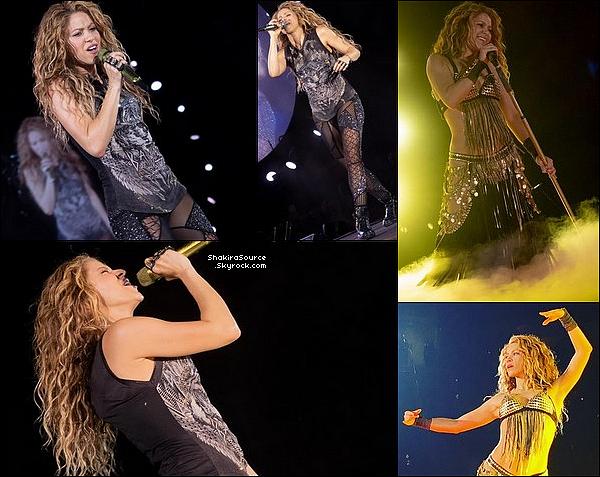 🎤 Shakira a donné un Concert au « SAP Center » pour El Dorado Tour. C'était également l'anniversaire de son Papa! o6 Septembre 2o18 - San Diego, Etats-Unis.