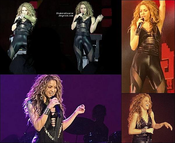 🎤 Shakira a donné un Concert lors du « Rakuten Optimism ». Rakuten étant un sponsor de la tournée de Shak. On a pu aussi voir Gérard & les enfants parmi le public. o7 Septembre 2o18 - San Francisco, Etats-Unis.