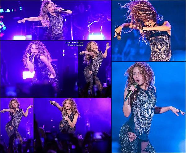 🎤 Shakira a donné un Concert à « L'Allianz Parque » pour El Dorado Tour. 21 Octobre 2o18 - São Paulo - Brésil.