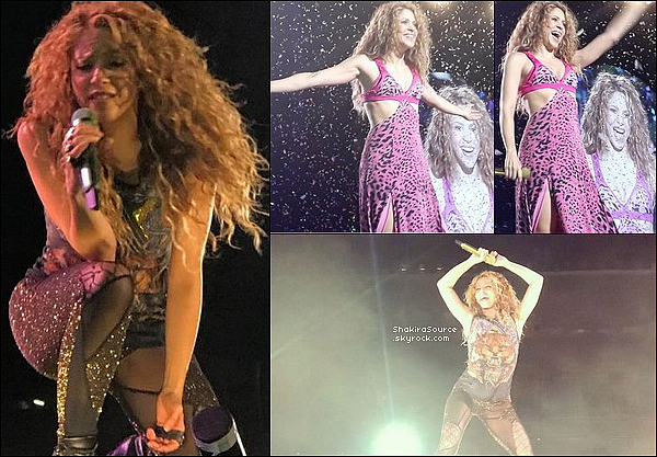 🎤 Shakira a donné un Concert au « Estadio Gigante De Arroyito » pour El Dorado Tour. 27 Octobre 2o18 - Rosario - Argentine.