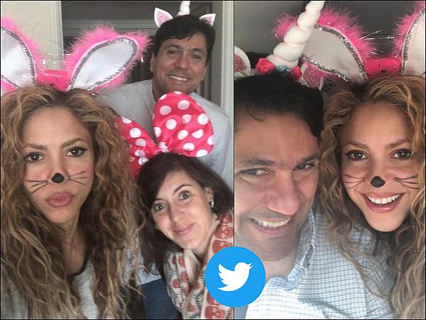 🏠 Shakira a rencontré des fans au « Ritz Carlton Hotel » pour la Fête d'Halloween. 31 Octobre 2o18 - Santiago, Chili.