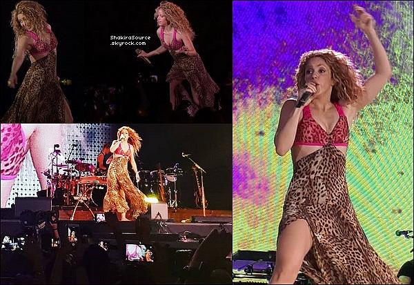 🎤 Shakira a donné un Concert au « Estadio Modelo Alberto Spencer Herrera »  pour El Dorado Tour. o1 Novembre 2o18 - Guayaquil, Equateur.
