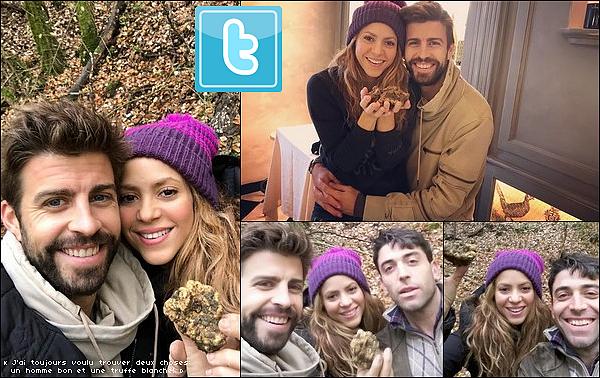 ⚽ Shakira a « Souhaité un Joyeux Noël à ses fans ».  24 Décembre 2o18 - Barcelone, Espagne.