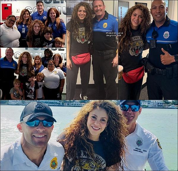 🚓 Shak, Milan, Sasha & Tonino sont allés au « Seaquarium »  & au « Departamento de Policia de Miami Beach ».   18 Février 2o19 -  Miami, Etats-Unis.