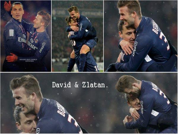 David & Zlatan : Une amitié hors du commun !