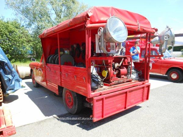 Ancien véhicule d'éclairage Ingwiller