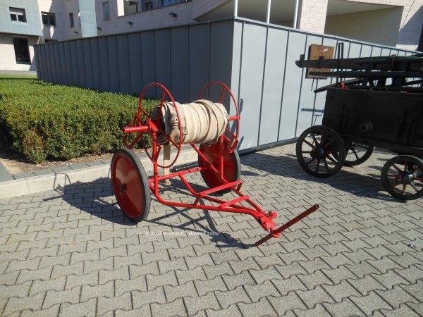 Pompes à Bras et remorques des Sapeurs-Pompiers du Haut-Rhin
