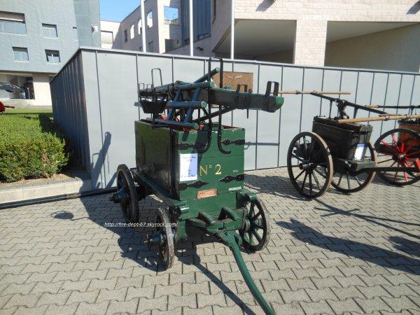 Anciennes Remorques Sapeurs-Pompiers du Haut-Rhin