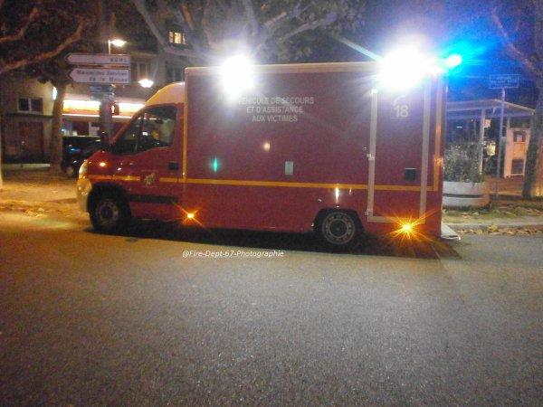 Accident à Strasbourg