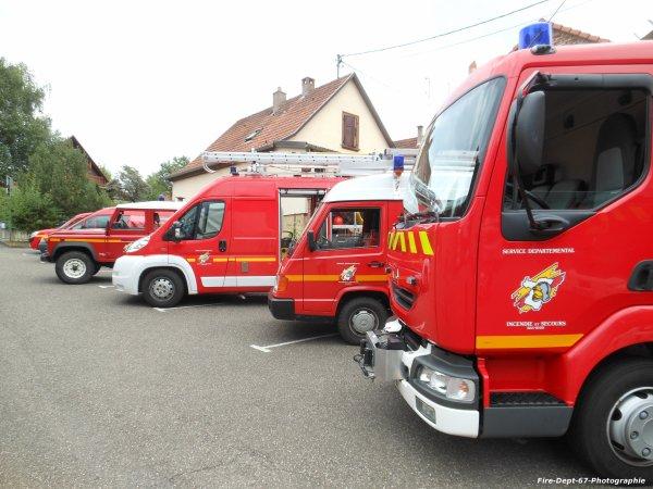 Journée Portes Ouvertes au CIS Niederbronn-les-Bains
