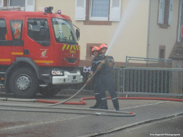 Manoeuvre JSP, Niederbronn-les-Bains 2/3
