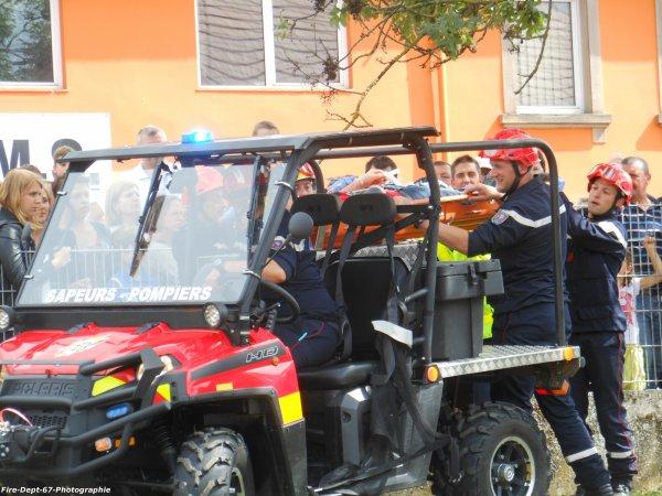 Manoeuvre Secours en Montagne, CIS Saverne 3/3