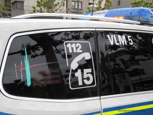 VLM 5 SMUR Strasbourg