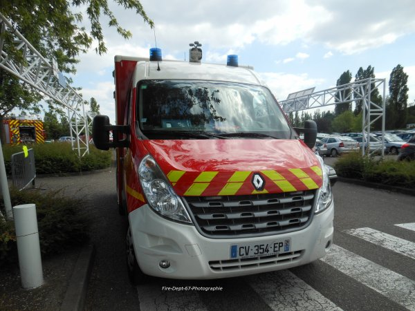 VSAV Strasbourg Finkwiller