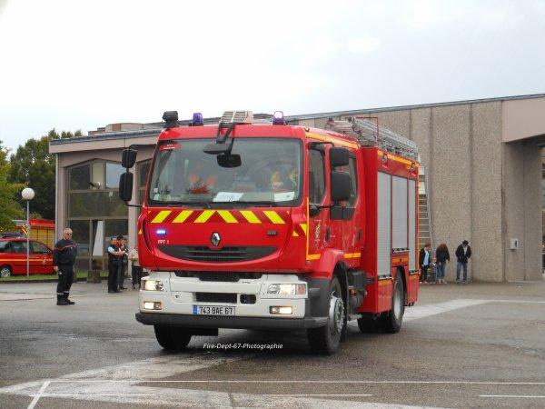 JPO Strasbourg Ouest, Manoeuvre Incendie 1 ( 1/5 )