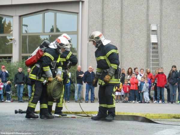 JPO Strasbourg Ouest, Manoeuvre Incendie 1 ( 2/5 )
