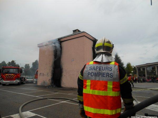 JPO Strasbourg Ouest, Manoeuvre Incendie 1 ( 3/5 )
