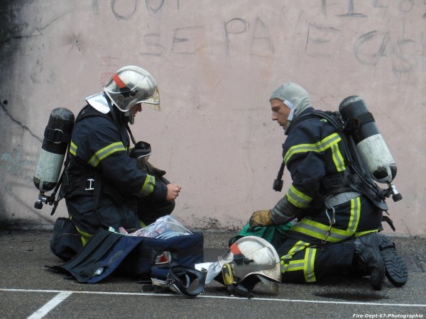 JPO Strasbourg Ouest, Manoeuvre Incendie 1 ( 4/5 )