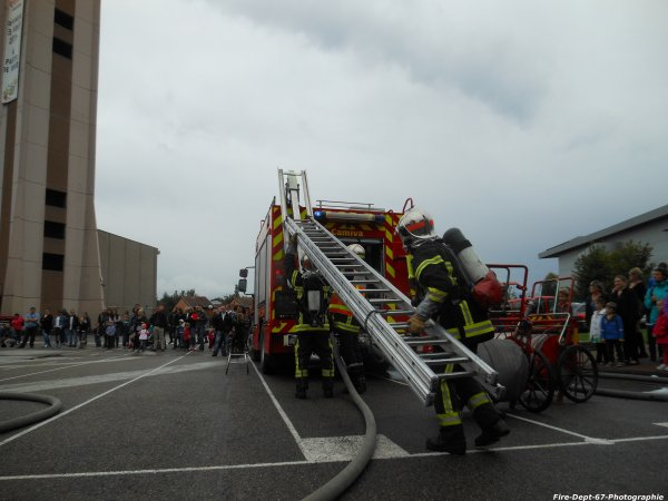 JPO Strasbourg Ouest, Manoeuvre Incendie 1 ( 5/5 )