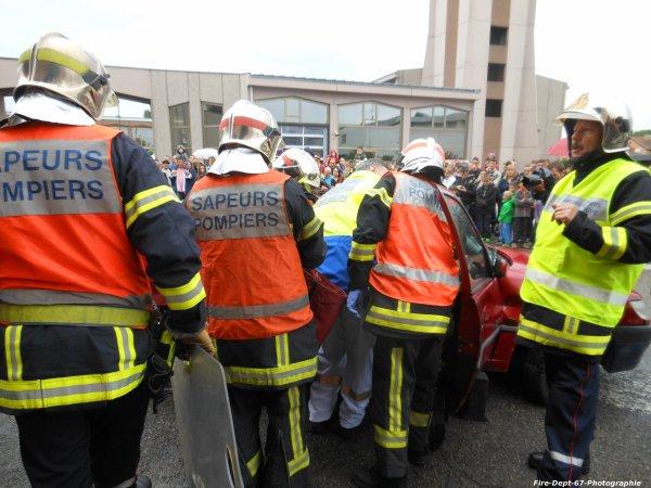JPO Strasbourg Ouest, Manoeuvre de Désincarcération ( 2/5 )