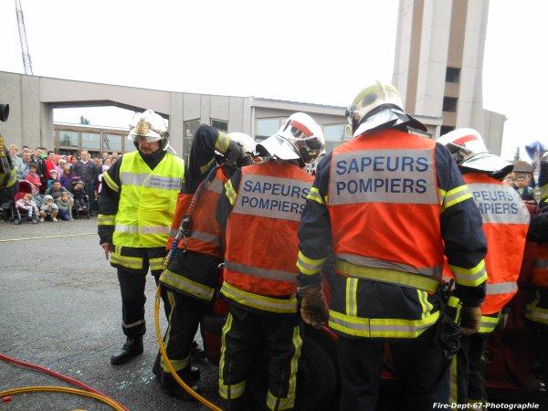 JPO Strasbourg Ouest, Manoeuvre de Désincarcération ( 4/5 )