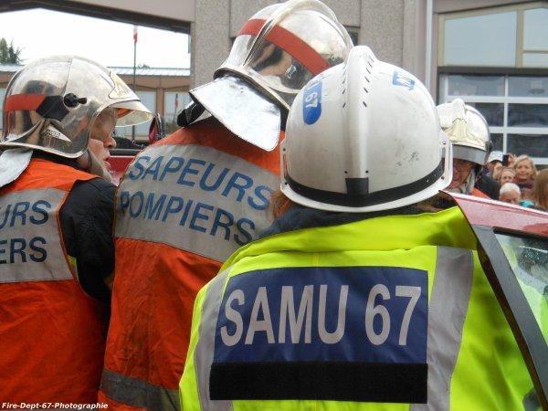 JPO Strasbourg Ouest, Manoeuvre de Désincarcération ( 5/5 )