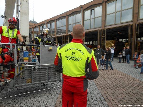 JPO Strasbourg Ouest Démonstration du GRIMP 67 + BEA 2 ( 1/2 )