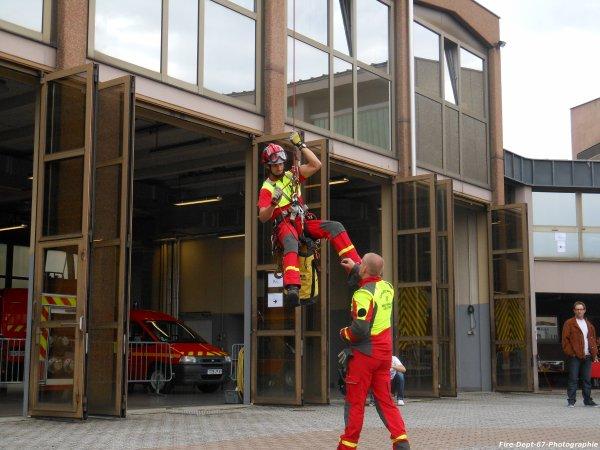 JPO Strasbourg Ouest Démonstration du GRIMP 67 + BEA 2 ( 2/2 )