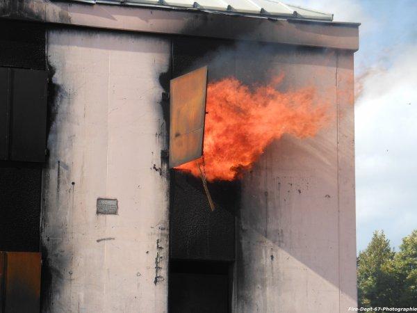 JPO Strasbourg Ouest, Manoeuvre Incendie 2 ( 1/6 )