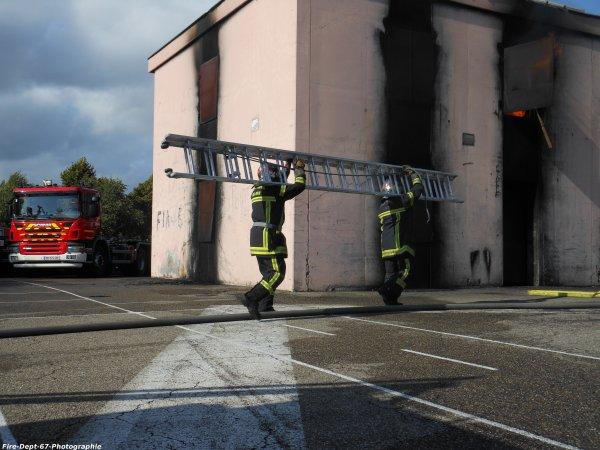 JPO Strasbourg Ouest, Manoeuvre Incendie 2 ( 2/6 )