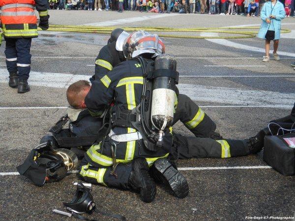 JPO Strasbourg Ouest, Manoeuvre Incendie 2 ( 5/6 )