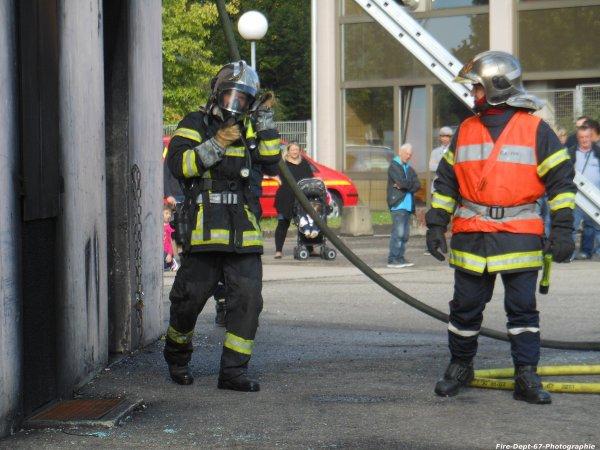JPO Strasbourg Ouest, Manoeuvre Incendie 2 ( 6/6 )