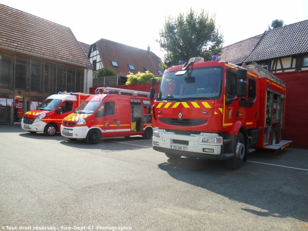 Journée Portes Ouvertes au CIS Vendenheim