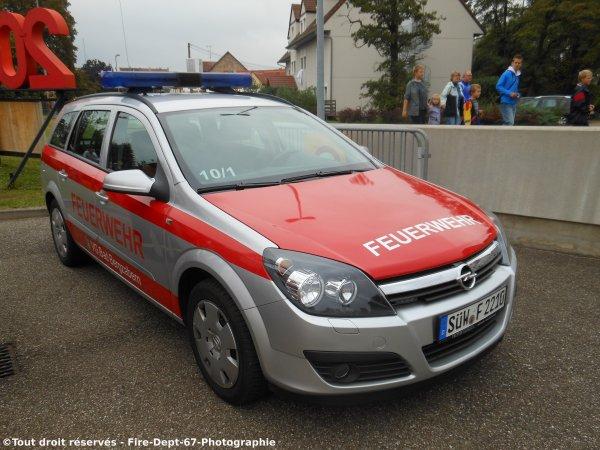 KdoW Freiwillige Feuerwehr Bad Bergzabern