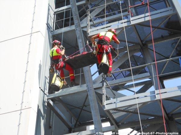 Journée Portes Ouvertes CIS Wissembourg, Manoeuvre GRIMP 1 ( 2/2 )