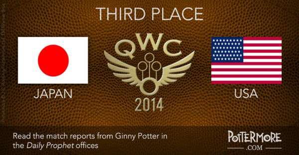 La chronique de Ginny Weasley pour le match de la 3ème place (Match Japon-USA #QWC2014)
